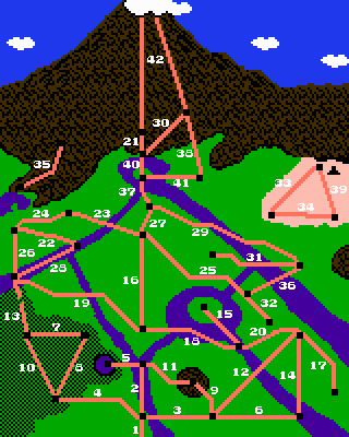 Clash at Demonhead NES world map.png
