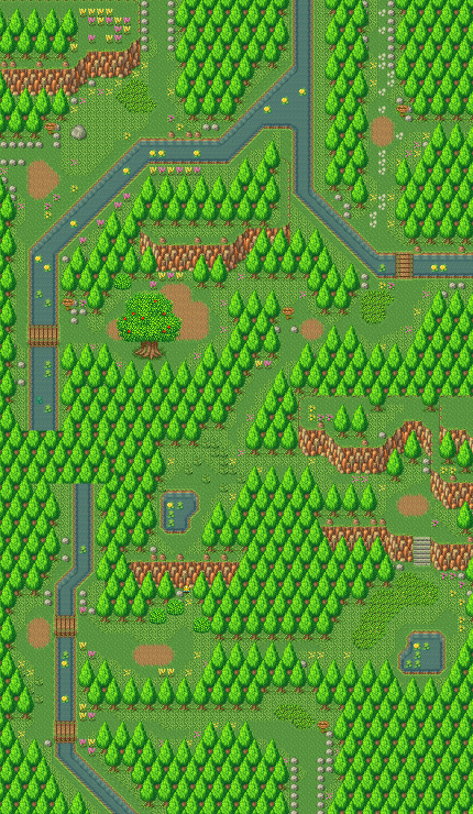Secret of Mana map Pandora path.png