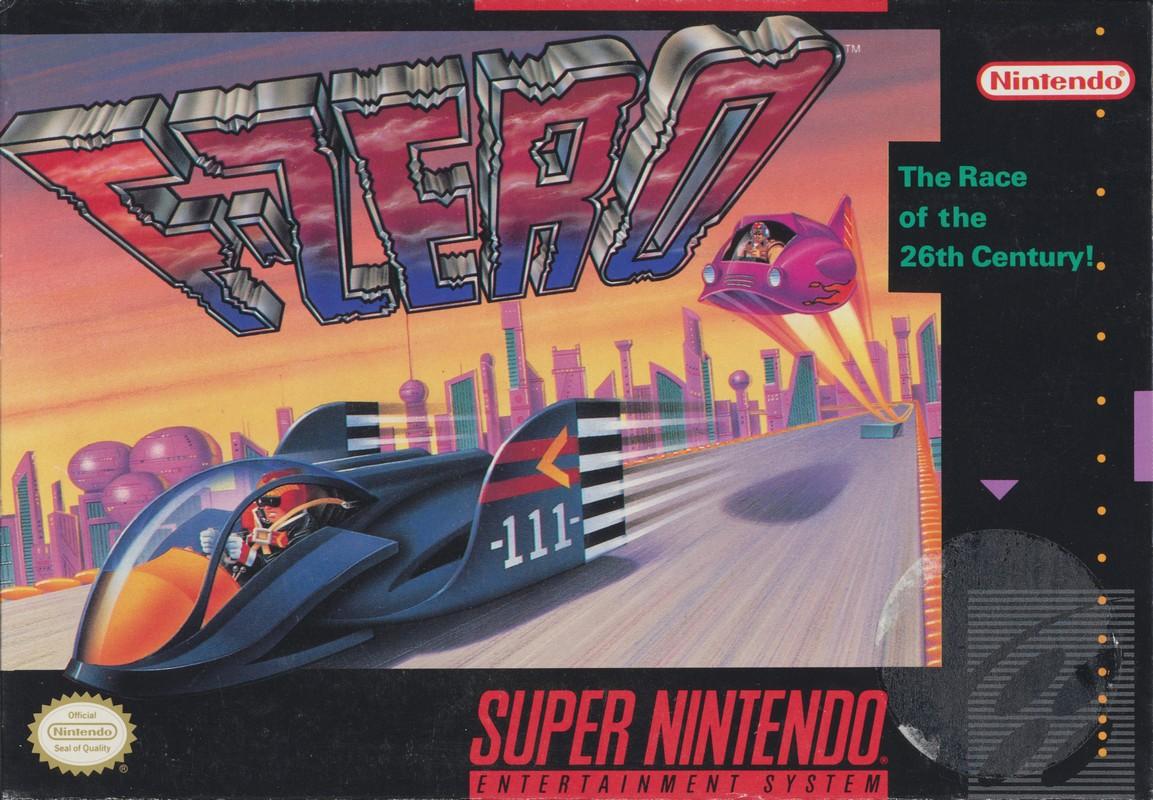 F-Zero switch box art