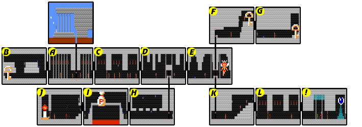 Zelda II: The Adventure of Link/Parapa Palace — StrategyWiki, the ...