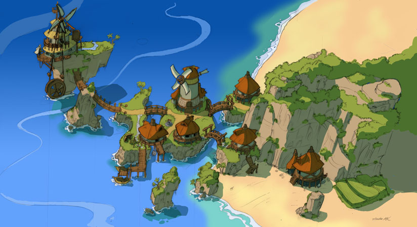 Jak And Daxter The Precursor Legacy Sandover Village