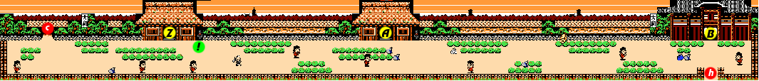 Ganbare Goemon 2 Stage 5 section 8.png