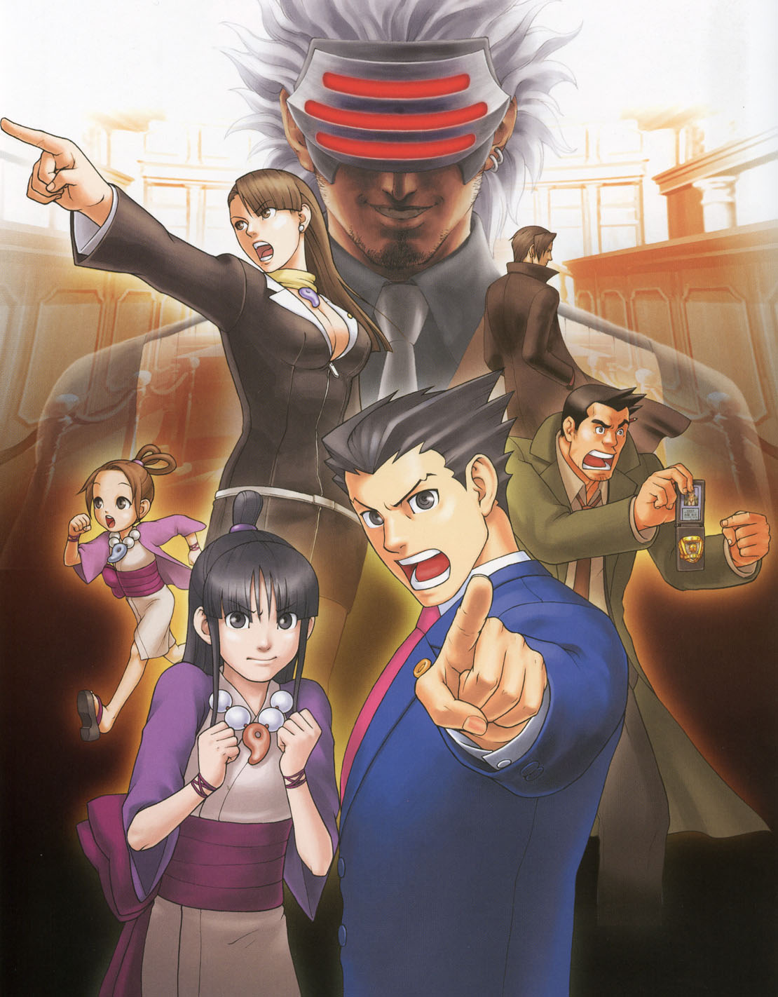 Phoenix Wright Ace Attorney Trials And Tribulations Walkthrough Strategywiki The Video Game Walkthrough And