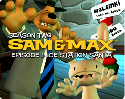 Box artwork for Sam & Max Episode 201: Ice Station Santa.