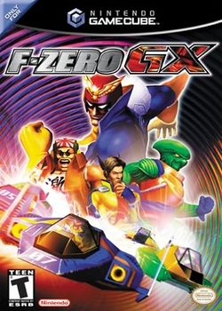 Box artwork for F-Zero GX.
