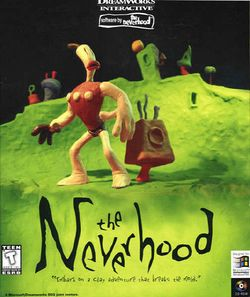 Box artwork for The Neverhood.