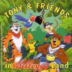 Box artwork for Tony and Friends in Kellogg's Land.