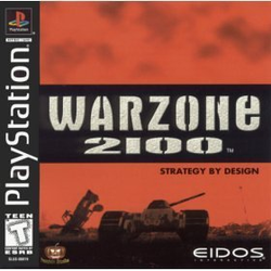 Box artwork for Warzone 2100.