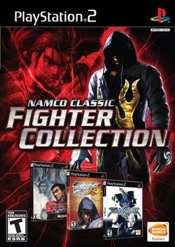 Box artwork for Namco Classic Fighter Collection.