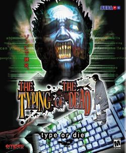 Box artwork for The Typing of the Dead.