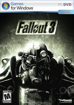 Box artwork for Fallout 3.