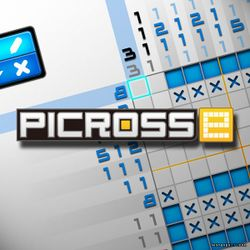Box artwork for Picross e.