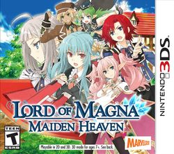 Box artwork for Lord of Magna: Maiden Heaven.