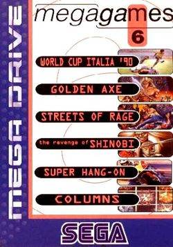 Box artwork for Mega Games 6.