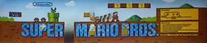 Vs. Super Mario Bros. marquee