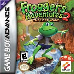 Box artwork for Frogger's Adventures 2: The Lost Wand.