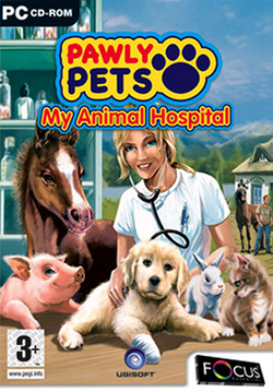 Box artwork for Pawly Pets: My Animal Hospital.