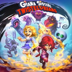Box artwork for Giana Sisters: Twisted Dreams.