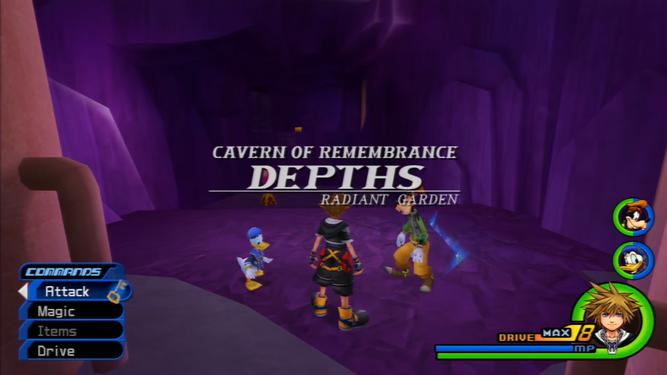 Kingdom Hearts Ii Cavern Of Remembrance Strategywiki The
