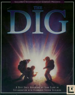 Box artwork for The Dig.