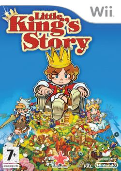 Box artwork for Little King's Story.