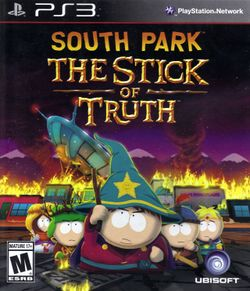 Box artwork for South Park: The Stick of Truth.