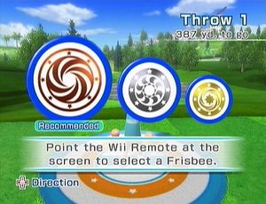 Wii Sports Resort/Frisbee — StrategyWiki, the video game