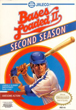 Box artwork for Bases Loaded II: Second Season.