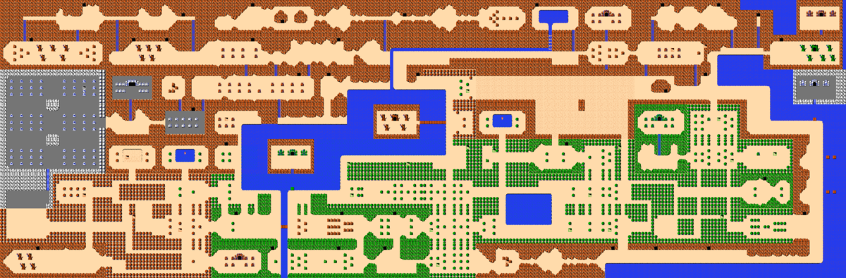 The Legend of Zelda/Overworld/Quest 1 — StrategyWiki, the
