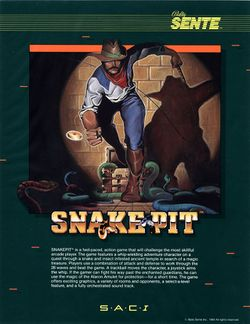 Box artwork for Snake Pit.