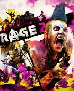 Box artwork for RⒶGE 2.