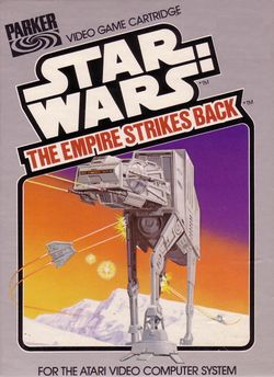 Box artwork for Star Wars: The Empire Strikes Back.