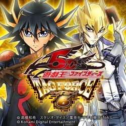 Box artwork for Yu-Gi-Oh! 5D's: Tag Force 6.