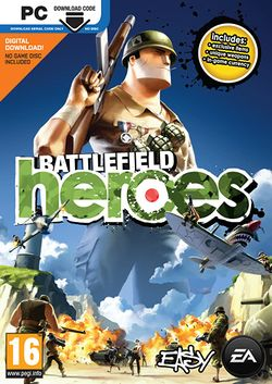 Box artwork for Battlefield Heroes.