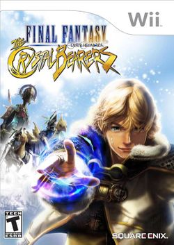 Box artwork for Final Fantasy Crystal Chronicles: The Crystal Bearers.