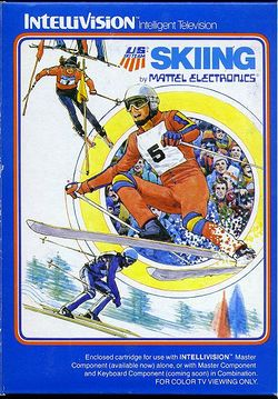 Box artwork for Skiing.