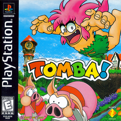Box artwork for Tomba!.