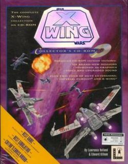 Box artwork for Star Wars: X-Wing.