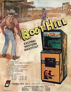 Box artwork for Boot Hill.