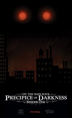 Box artwork for On the Rain-Slick Precipice of Darkness: Episode One.