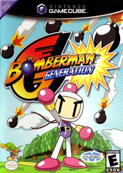 Box artwork for Bomberman Generation.