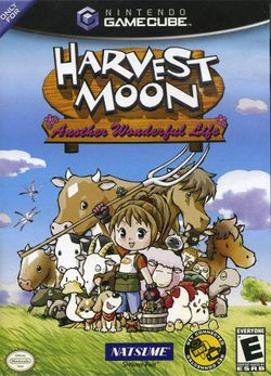 Box artwork for Harvest Moon: Another Wonderful Life.