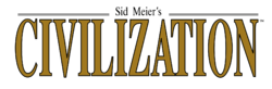 The logo for Civilization.