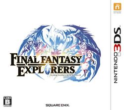 Box artwork for Final Fantasy Explorers.