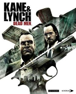 Box artwork for Kane & Lynch: Dead Men.