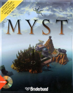 Box artwork for Myst.