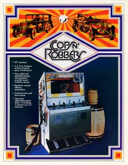 Box artwork for Cops'n Robbers.
