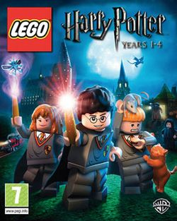 Box artwork for LEGO Harry Potter: Years 1-4.