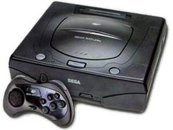 The console image for Sega Saturn.