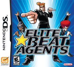 Box artwork for Elite Beat Agents.